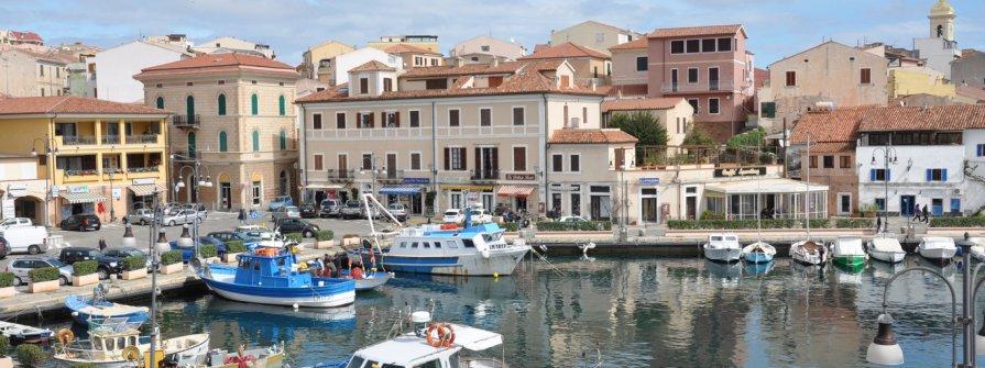 Stadthafen von La Maddalena (Cala Gavetta)