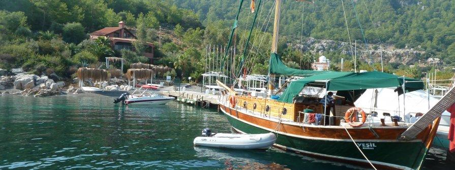 Yachtcharter Türkei ab KAS