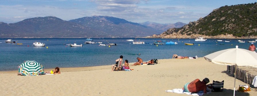 Strand bei Propriano