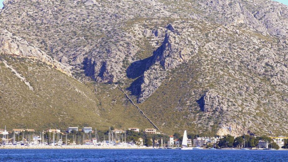 Blick auf Puerto Pollença