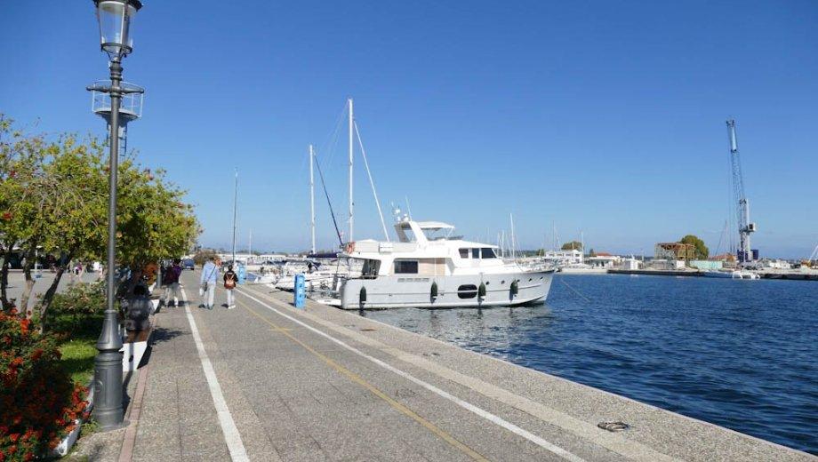Preveza Stadthafen