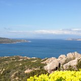 Bucht im La Maddalena Archipel