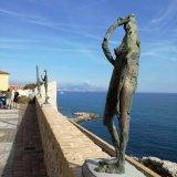 Antibes Côte d´Azur - Blick aus dem Picasso-Museum
