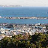 View of the Club de Mar marina