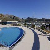 Swimmingpool direkt am Hafen von Puerto Pollença