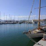 Blick auf den Hafen von Puerto Pollença
