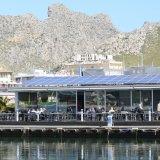 Restauant direkt am Hafen von Puerto Pollença