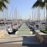 Steg im Real Club Nautico in Palma