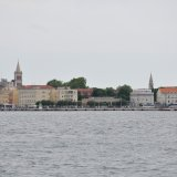 Blick auf die Altstadt von Zadar