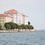 Blick auf die Promenade in Zadar