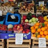 Markt in der Altstadt von Zadar