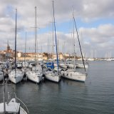 Hafen von Alghero auf Sardinien
