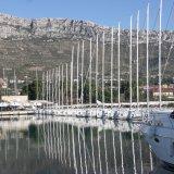 Yachten in der Marina Kastela