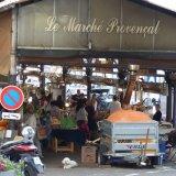 Yachtcharter Frankreich - Markt in Antibes
