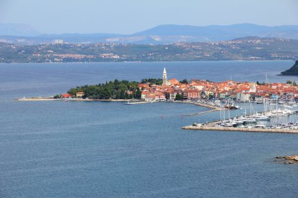 Izola auf der Halbinsel Istrien