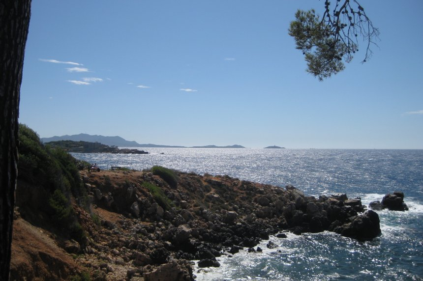 Wind an der italienischen Amalfiküste