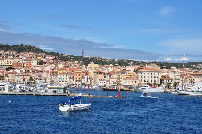 Sardinia sailing itineraries