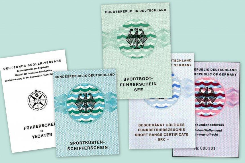 Führerscheinvorschriften für Segler in Kroatien
