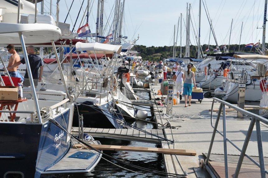 Suggested cruise of the Kornati