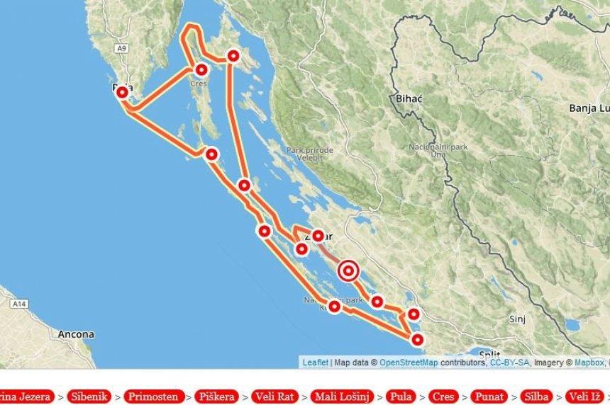 Dalmatien und Istrien ab Biograd