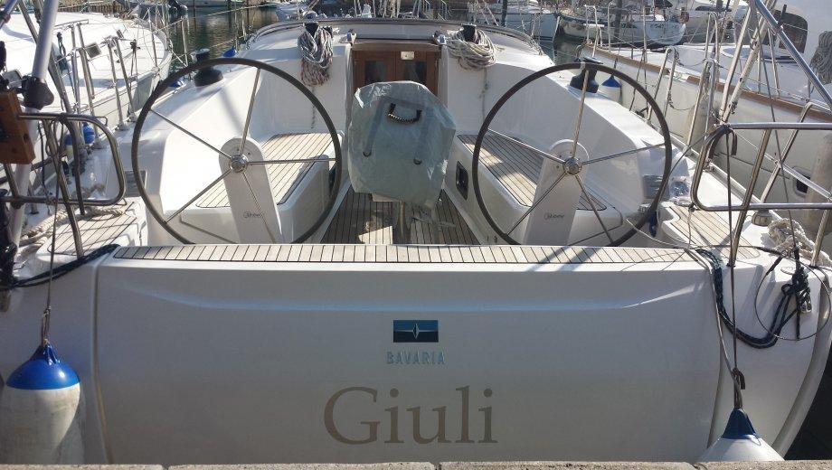 "Bavaria cruiser 41 in Portorosa ""Giuli"""