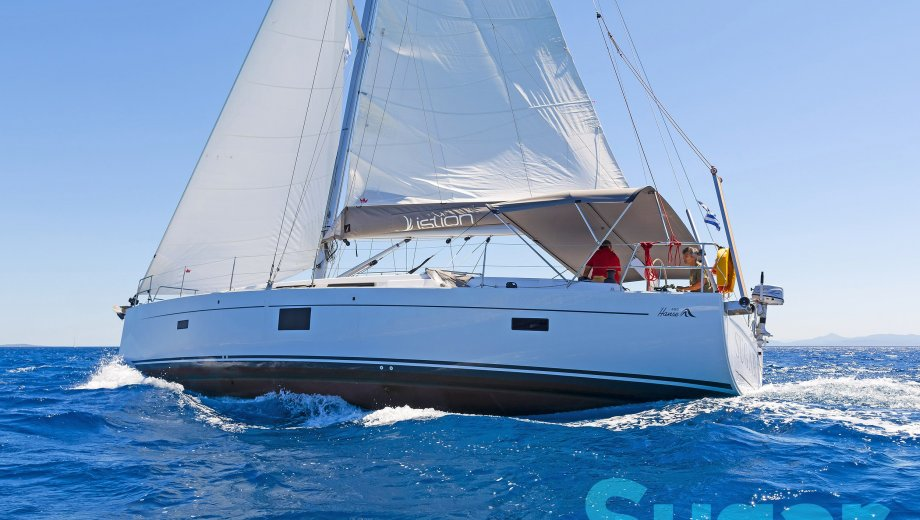 "Hanse 455 in Athen ""Sugar"""