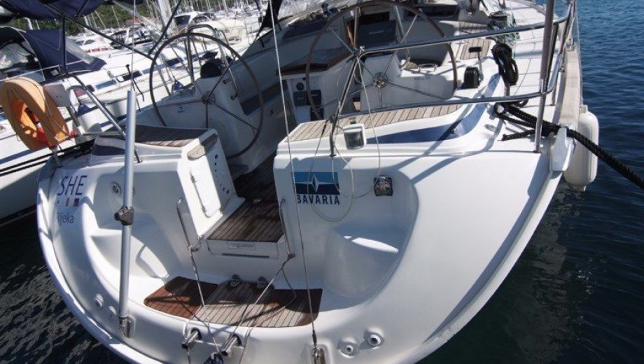 "Bavaria 46 cruiser in Punat ""She"""