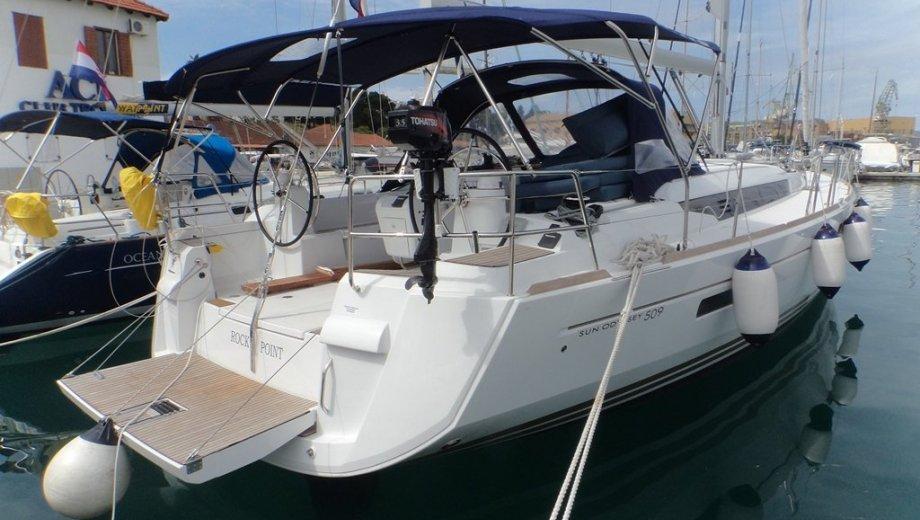 "Sun Odyssey 509 in Trogir ""Rock Point"""
