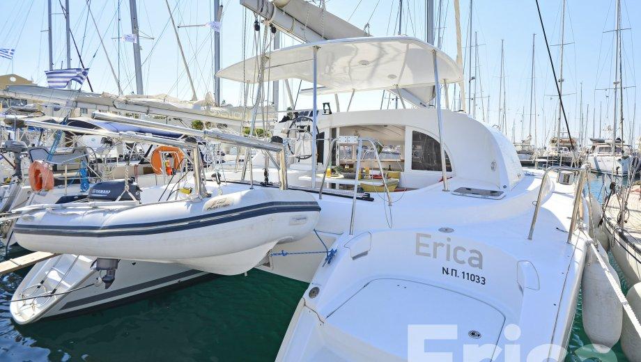 """Lagoon 380 S2 in Kos """"Erica"""""""