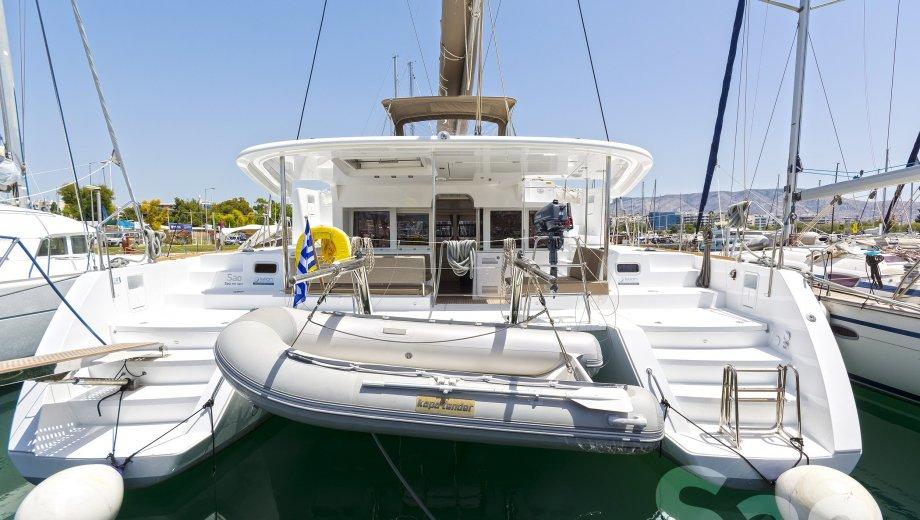 "Lagoon 450 in Athen ""Sao"""