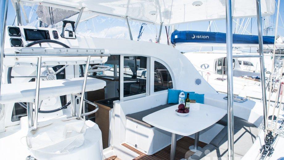 """Lagoon 380 in Lefkada """"Sirius"""""""