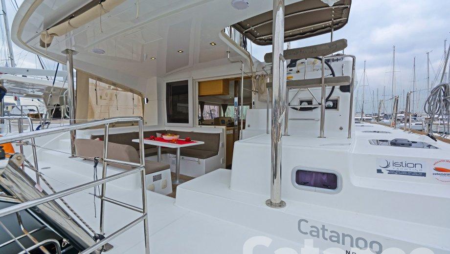 """Lagoon 39 in Athen """"Catanoo"""""""