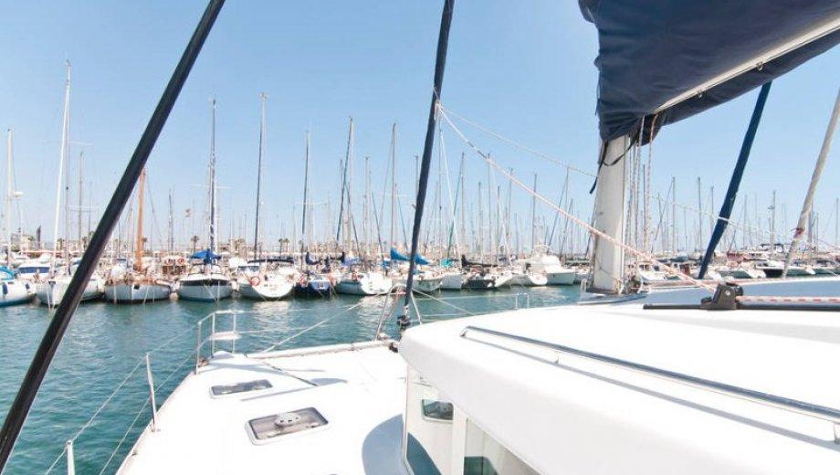 "Lagoon 440 in Barcelona ""Zippi"""