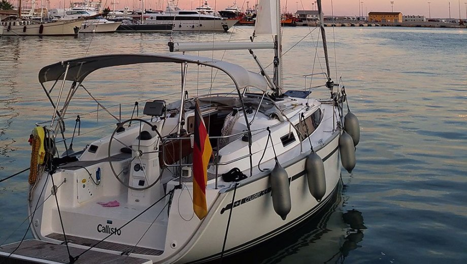 "Bavaria cruiser 33 in Palma ""Callisto"""