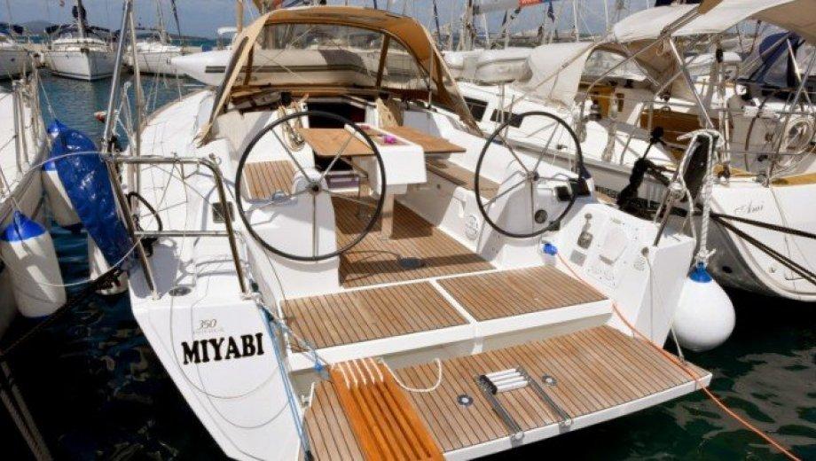 """Dufour 350 GL in Biograd """"Miyabi"""""""