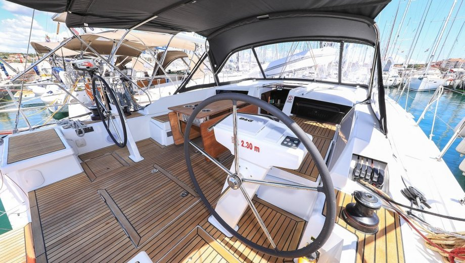 """Bavaria 42 in Fethiye """"JimminyGrille"""""""