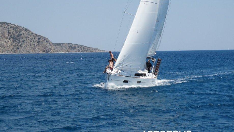 Océanis 38 in Lefkada