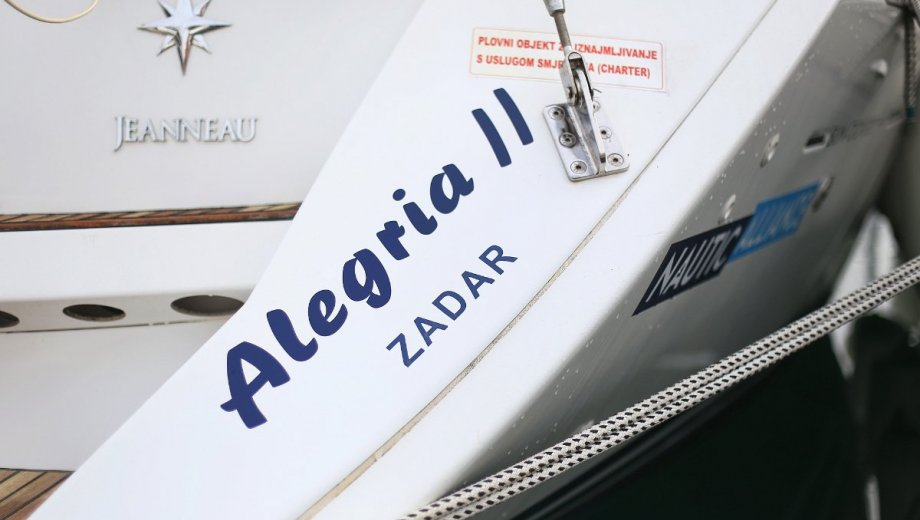 "Sun Odyssey 44i in Lefkada ""Alegria II"""