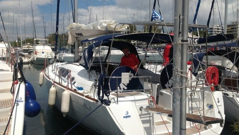 Océanis 46 in Athen