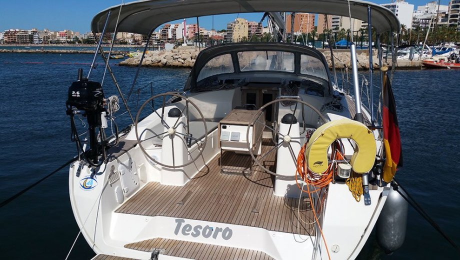 "Bavaria cruiser 40 in Palma ""Tesoro"""