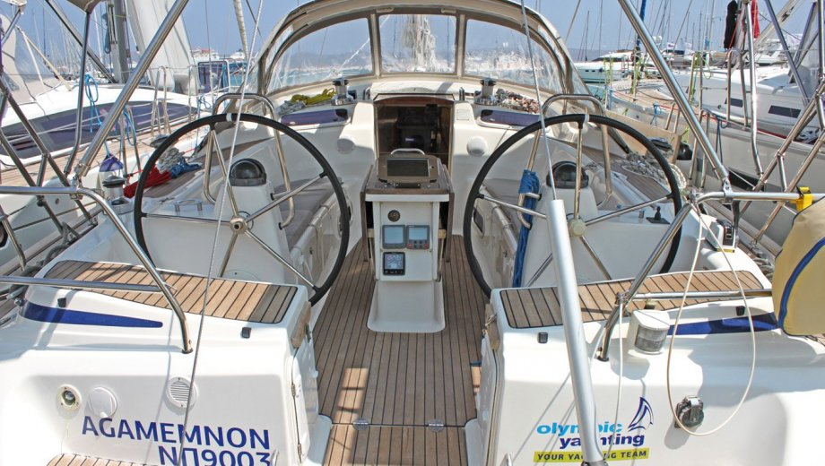 "Bavaria 50 cruiser in Lavrion ""Agamemnon"""