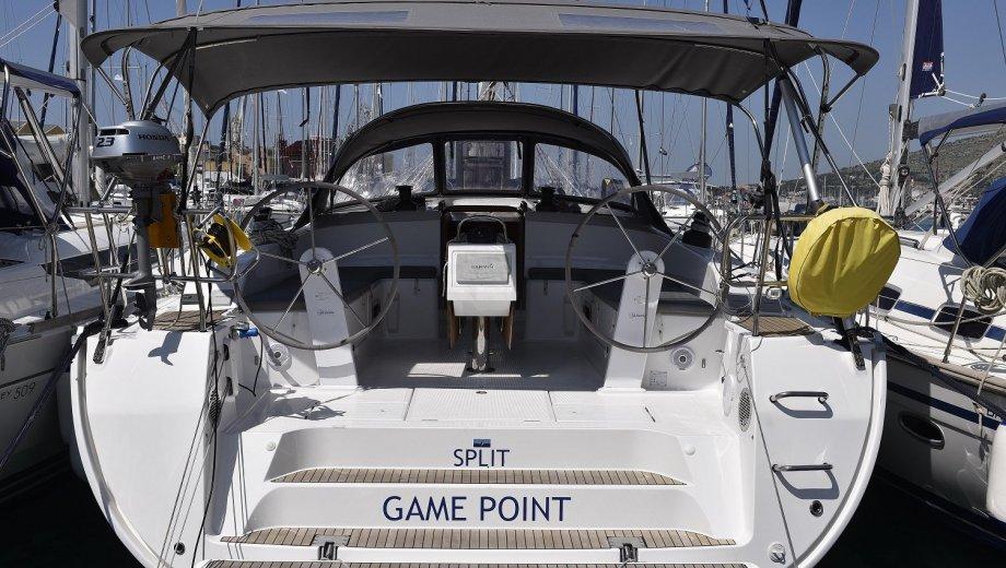"Bavaria cruiser 51 in Trogir ""Game Point"""