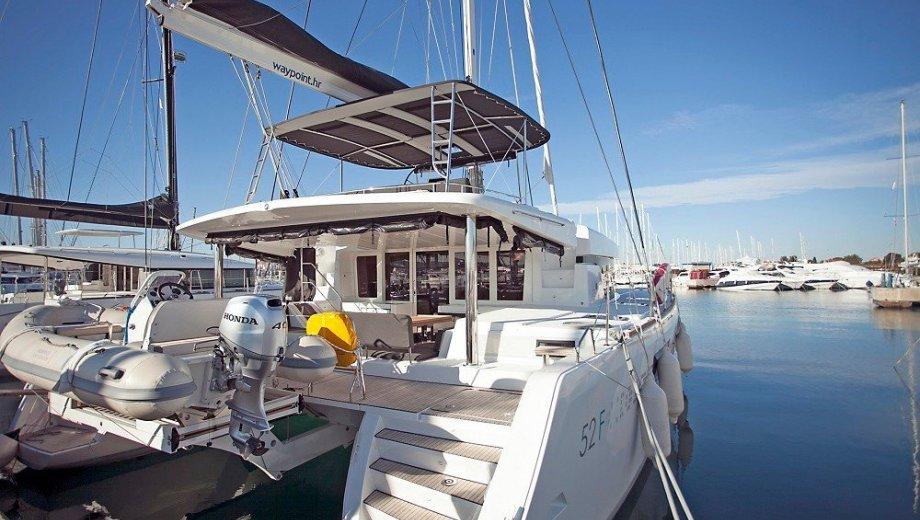 "Lagoon 52 in Trogir ""Great Salsa"""