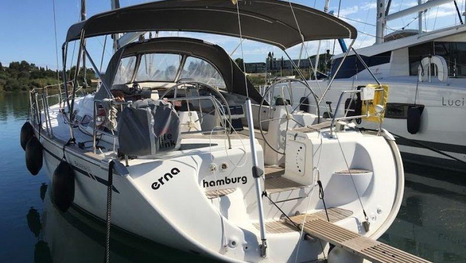 """Bavaria 46 cruiser in Korfu """"Erna"""""""