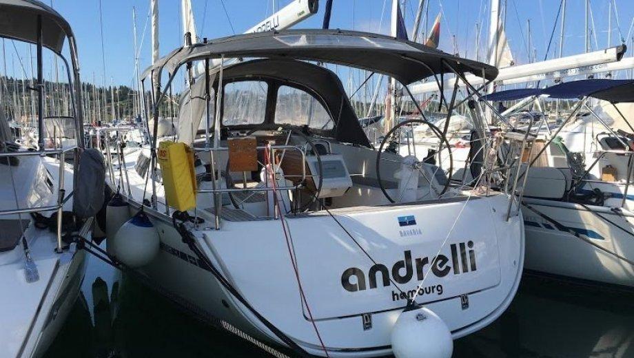 "Bavaria cruiser 37 in Korfu ""Andrelli"""
