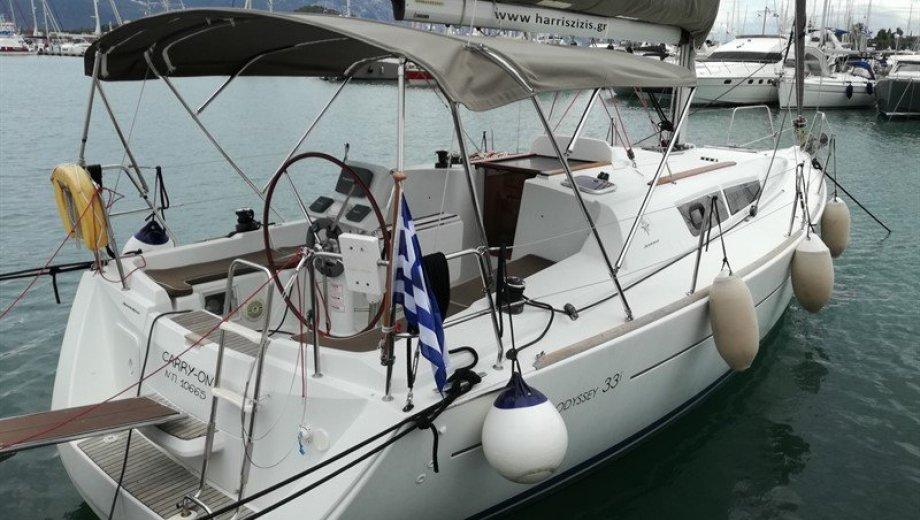 "Sun Odyssey 33i in Korfu ""Carry On"""