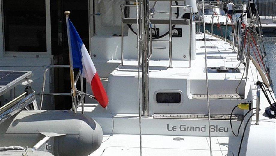 "Lagoon 39 in Korfu ""Le Grand Bleu"""