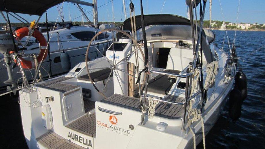 """Hanse 325 in Palma """"Aurelia"""""""