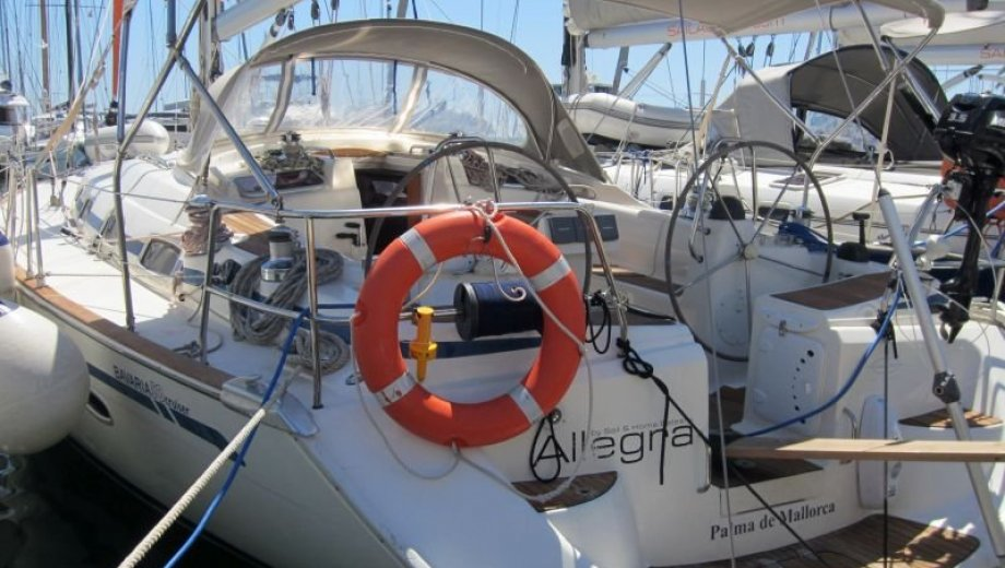 "Bavaria 50 cruiser in Palma ""Allegra"""