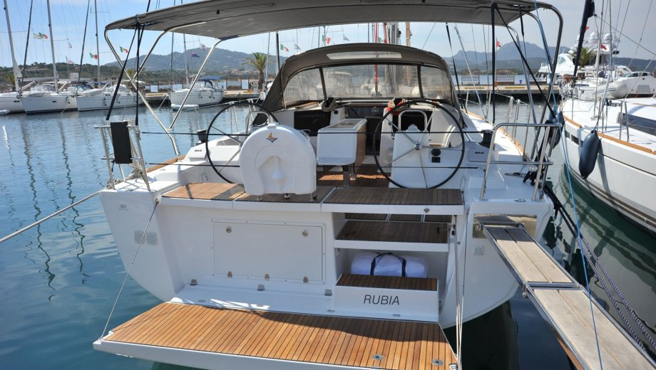 "Dufour 460/4 in Portisco ""Rubia """